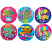 Birthday Stickers Laser Stickers 84 pack (LS158)