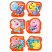 Scratch 'n Sniff Stickers Bubblegum Scented 72 pack (SS1025)