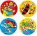 Sporty Bugs Stickers 96 pack (MS002)