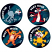 Electric Cats Stickers 96 pack (MS112)