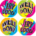 Very Good / Well Done Fluoro Stickers 96 pack
