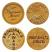 Principal's Gold Award Foil Sticker