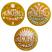 Principal's Gold Foil Award Sticker