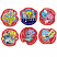 Scratch 'n Sniff Stickers Popcorn Scented 72 pack