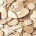 wooden shapes natural