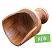 wooden scoop