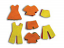 Felt Clothing Shapes Pack