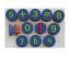 Sponge Number Stamps