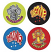 Amazing Australia Stickers 96 pack