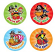 Pirate Merit Stickers 96 pack (MS037)