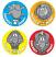 Enormous Effort Merit Stickers 96 pack (MS020)