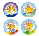 Active Guinea Pigs Stickers 96 pack