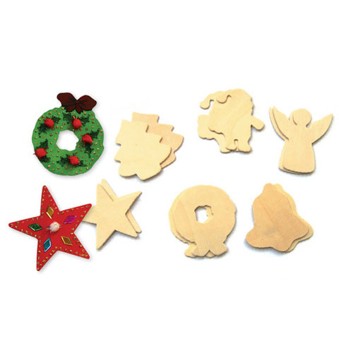Wooden xmas cutouts for Wooden christmas cutouts