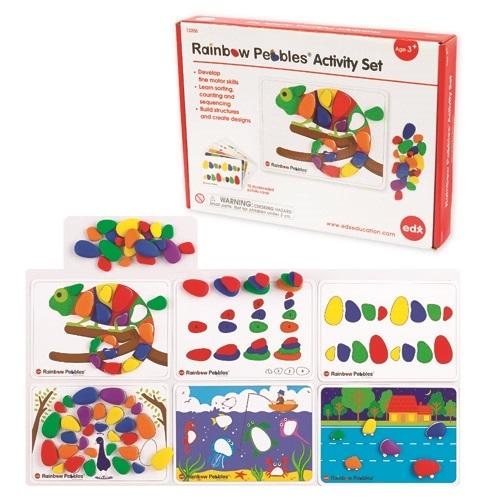 Rainbow Pebbles Activity Set (Box of 48)