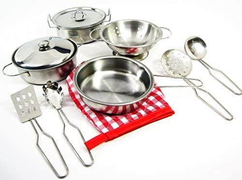 Kids Alloy Cooking Utensils Set