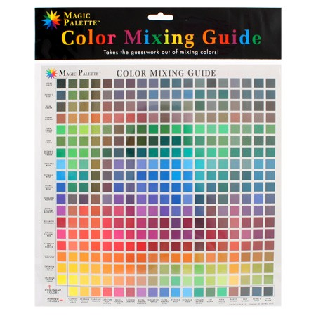 Magic Palette Colour Mixing Guide no5324