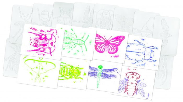 Insect Rubbing Plates - 16 pack