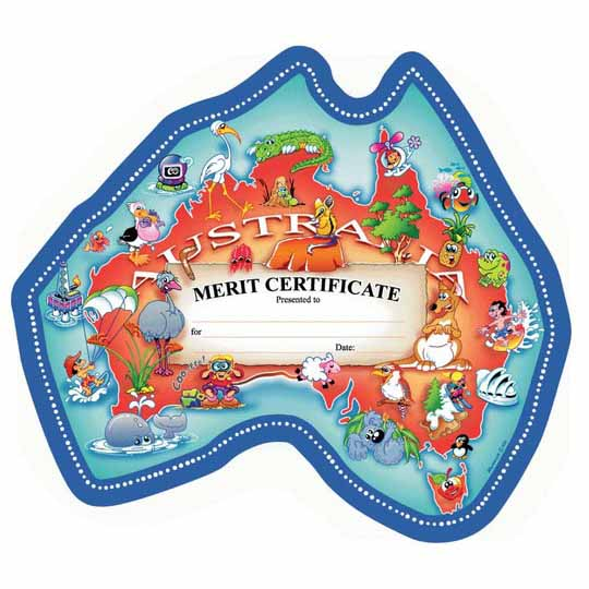 Certificate Our Australia