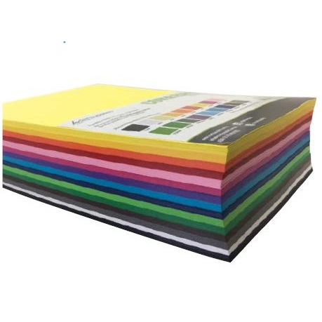 Cover Paper A3 500pack Assorted Colours
