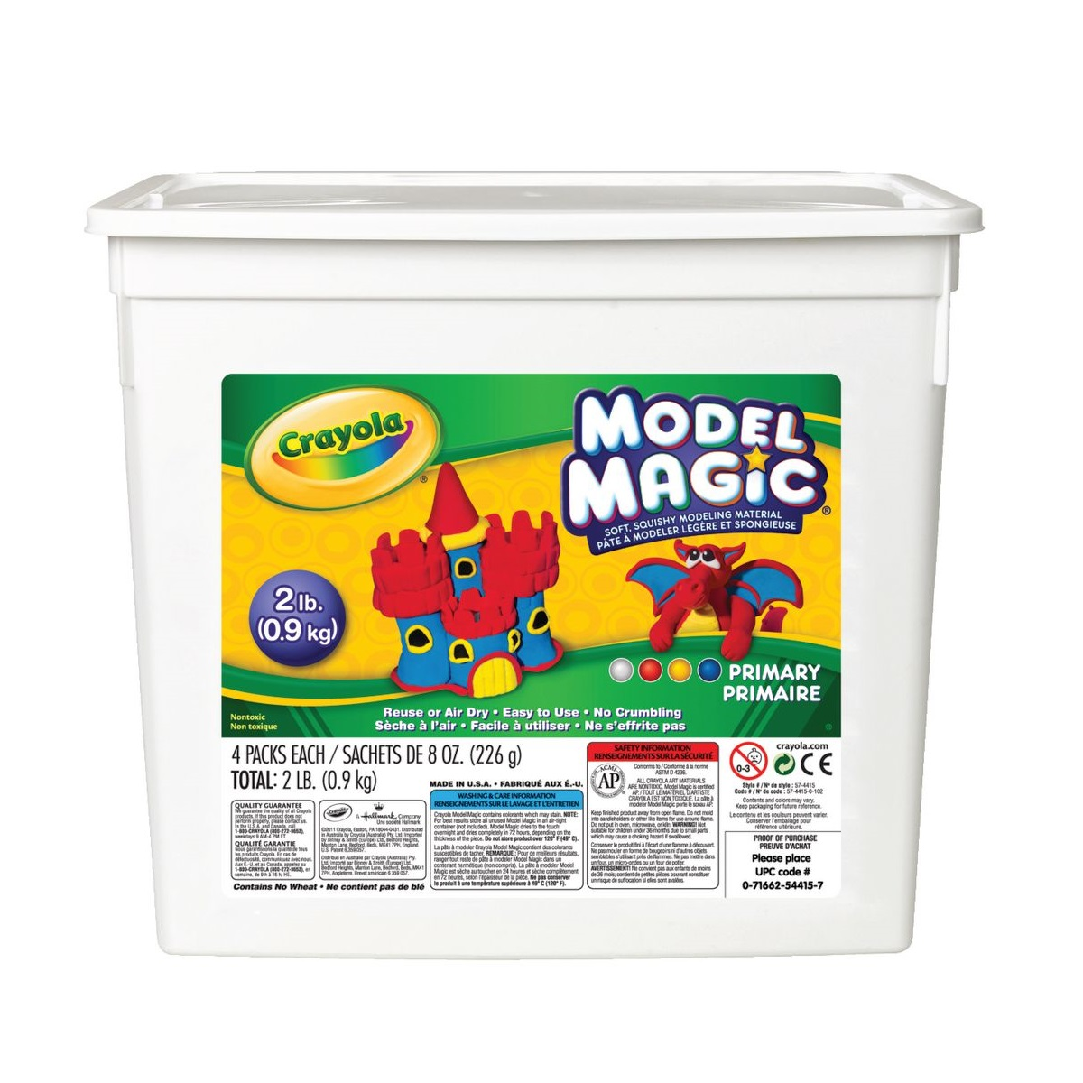 Crayola Model Magic Bucket Assorted Colours