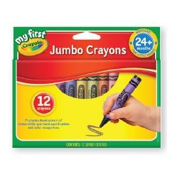 My First Crayons 12 pack