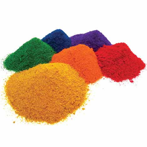 Coloured Saw Dust