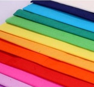 Crepe Paper Single colours