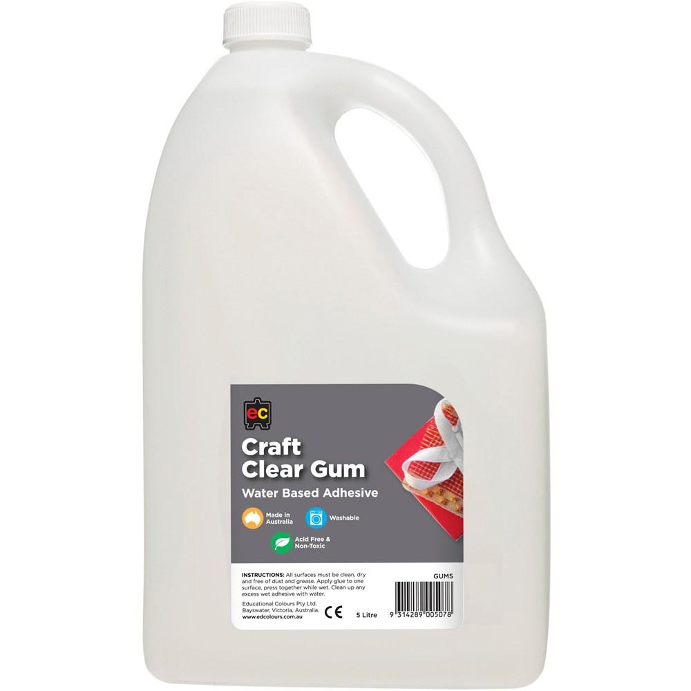 Clear Gum Glue EC 5 Litre