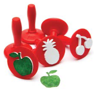 Stampers Handle Fruit 6pk