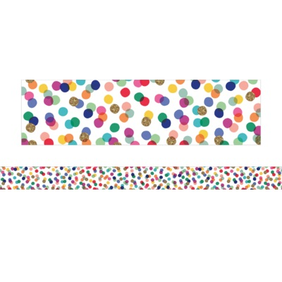 Confetti - Large Borders (Pack of 12)