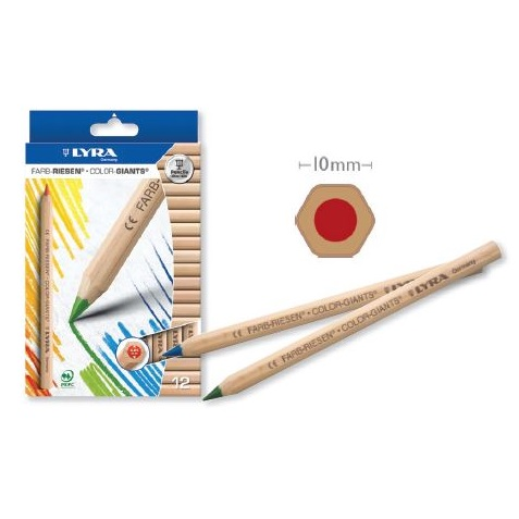 Pencils Giant Lyra Colour 12 pack