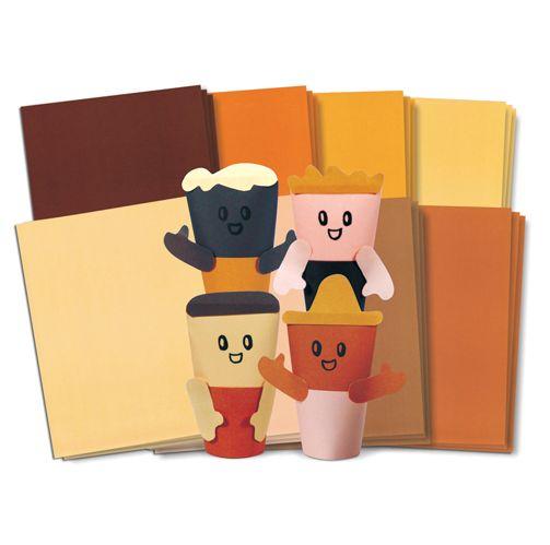 Skin Tone Multicultural Paper