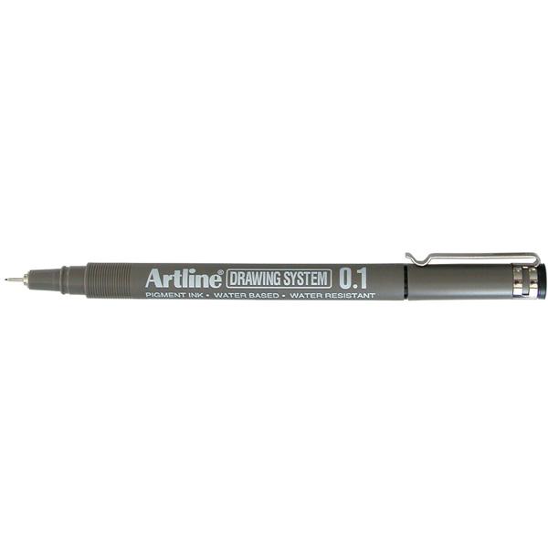 Artline 231 Drawing System 0.1mm Black