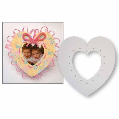 Cardboard Weaving Hearts