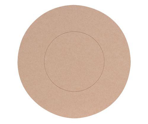 Cardboard Circle Base 19cm