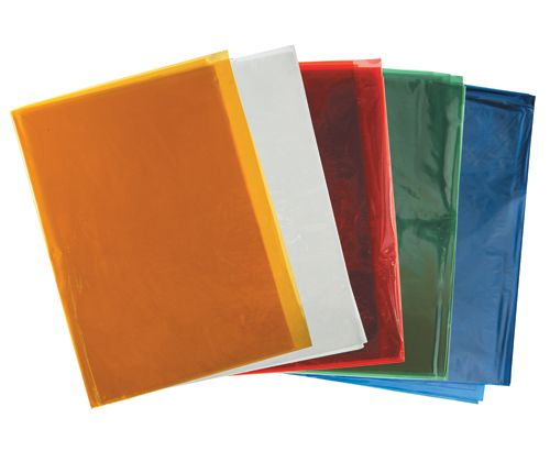 Cellophane  Assorted coloured Packs