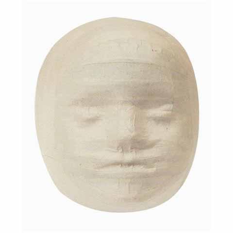 Paper Mache Child Mask 10pack