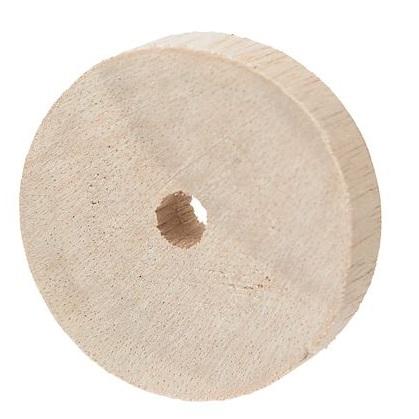 Wooden Wheel 45mm - 20pack