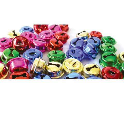 Jingle Bells Assorted Colours 50 pack