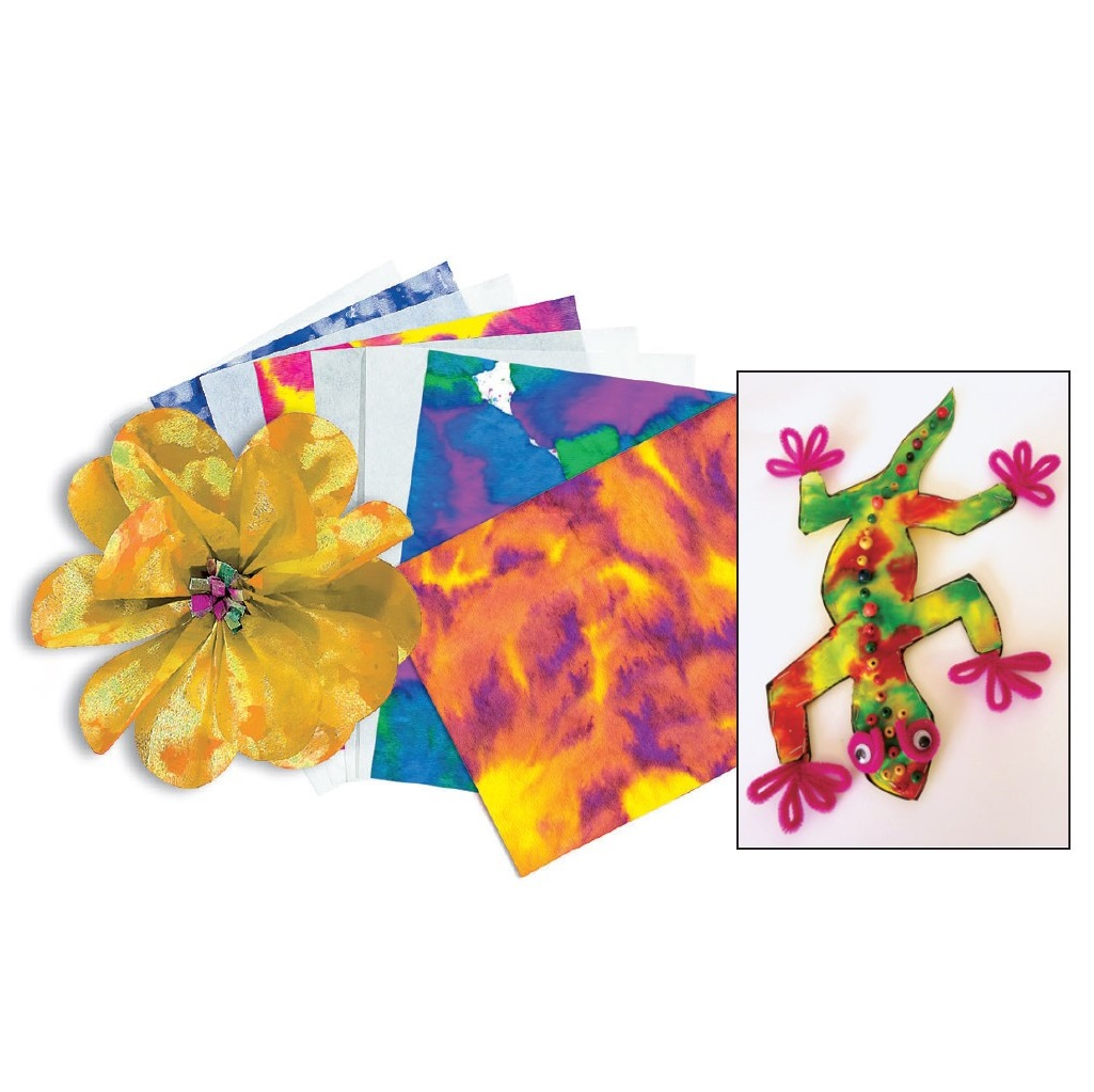 Colour Diffusing Paper