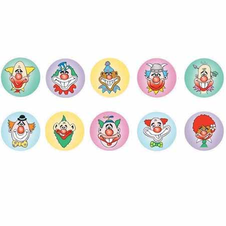 Clown Dot Stickers 800 pack (DD401)