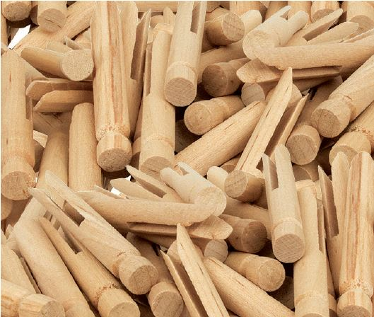 Dolly Pegs 50pack (natural)