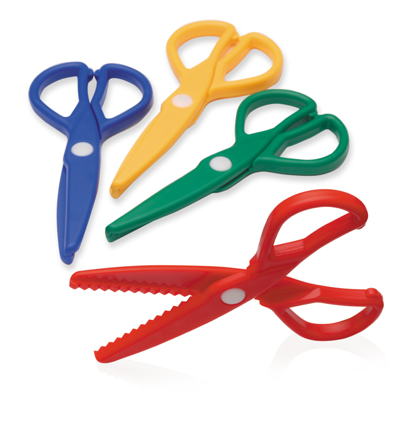 Zig-Zag Dough Scissors 12 Pack