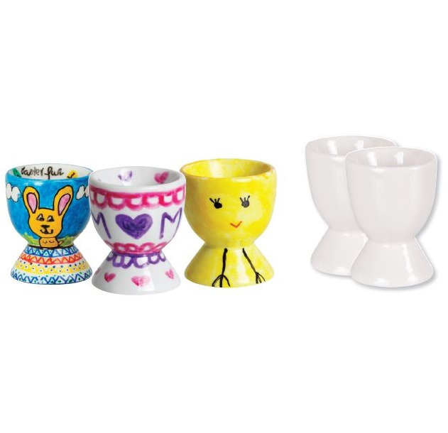 Ceramic Egg Cups 12pack