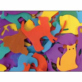 Foam Shapes Animals