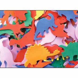Foam Shapes Dinosaur