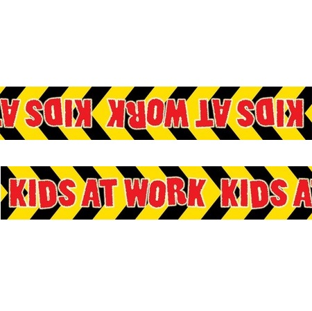 Kids at Work Large Self Adhesive Border