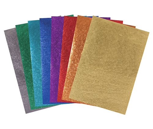 Metallic Scales Paper A4