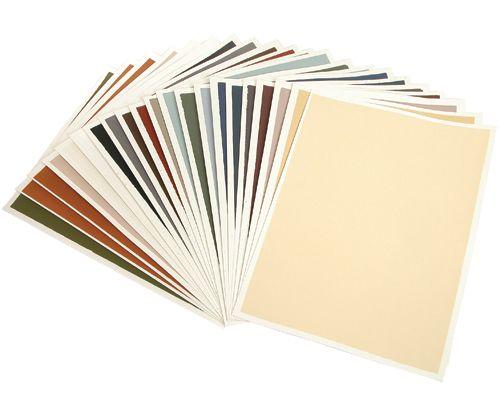 Colourfix Paper 24x32cm 20s Assorted TEXTURED