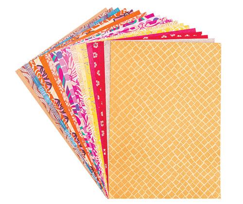 Handmade Paper A4 20's Warm